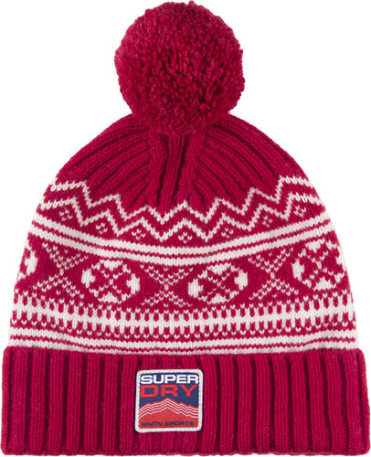 a5126efdf42b SUPERDRY ADULTS MARIBO BEANIE ΣΚΟΥΦΟΣ ΑΝΔΡΙΚΟΣ M90005KP-RED (RED ...