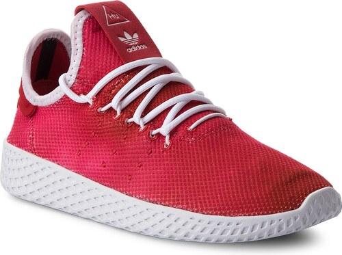 59d6ca94c09 Παπούτσια adidas - Pw Tennis Hu J CQ2301 Scarle/Ftwwht/Ftwwht - Glami.gr