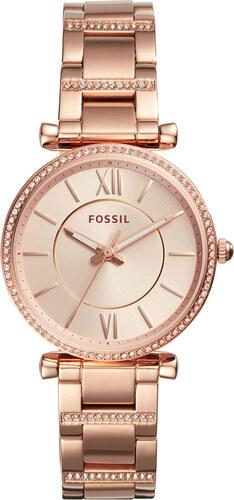 Ρολόι FOSSIL - Carlie ES4301 Rose Gold Rose Gold - Glami.gr 2b779b536c0