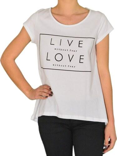 Cocktail Γυναικείο t-shirt Coctail λευκό με τύπωμα 013801055 - Glami.gr 186287a503d