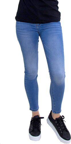 Huxley   Grace Γυναικείο τζιν Push Up μπλε ελαστικό σωλήνας CY891 ... 252c0cf6b55