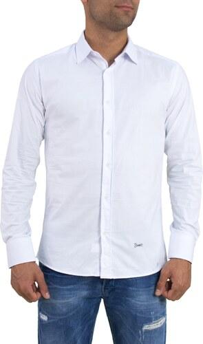 Ανδρικό λευκό μονόχρωμο πουκάμισο Ben Tailor 185210 - Glami.gr b201ccbd78f
