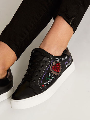 31bb96824b7 Celestino Αθλητικό παπούτσι με μήνυμα SD1614.A611+1 - Glami.gr