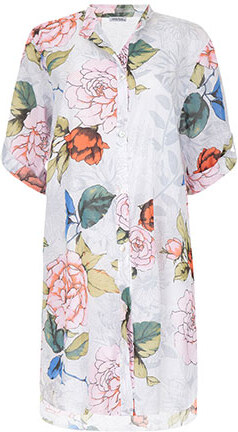 1db2b30f329e Celestino Μακρύ floral πουκάμισο από βαμβάκι SD7812.3668+1 - Glami.gr