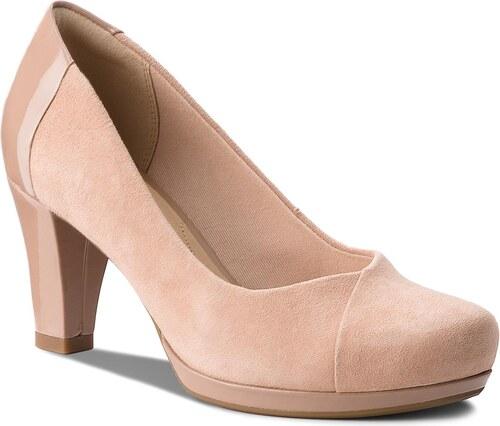 Κλειστά παπούτσια CLARKS - Chorus Carol 261326894 Beige Combi - Glami.gr 63c0d6ddf58