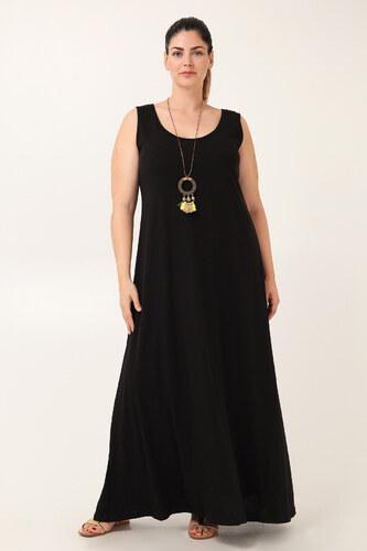 Parabita Αμάνικο βαμβακερό maxi φόρεμα - Glami.gr b7cf16c96da