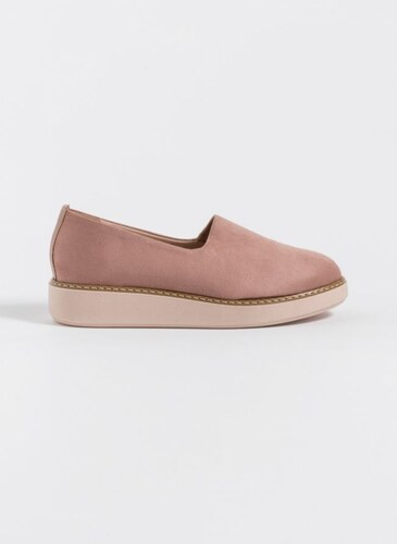 59d0c8cb8b6 The Fashion Project Suede slip ons - Ροζ - 003 - Glami.gr