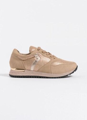 The Fashion Project Sneakers με μεταλλική λεπτομέρεια στη σόλα - Πούρο - 002 585a0eeb5b4