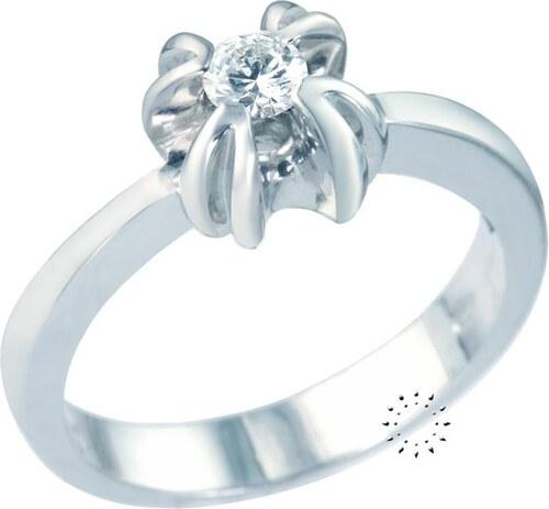 Μονόπετρο Δαχτυλίδι 18Κ Λευκόχρυσο με Διαμάντι της PRECIEUX - Glami.gr b0a215a96d8