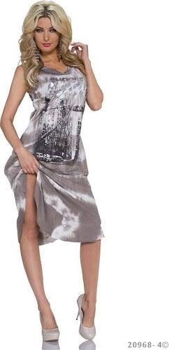 Queen Fashion 51706 QN Βαμβακερό μίντι φόρεμα - Glami.gr bf77fa20485