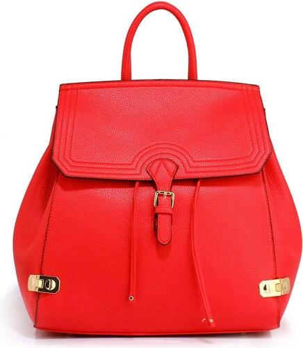 Anna Grace 1423 AG Γυναικεία τσάντα πλάτης AG00513 - Κόκκινη - Glami.gr 09f636a0164