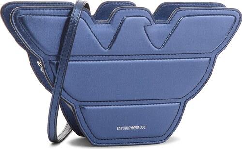 37e0805a71 Τσάντα EMPORIO ARMANI - Y3B078 YDF8E 87890 Navy Blue Black - Glami.gr