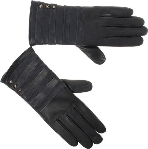 Δερμάτινα Γυναικεία Γάντια Tommy Hilfiger Stripy Leather Gloves AW04394 a7221988bcb