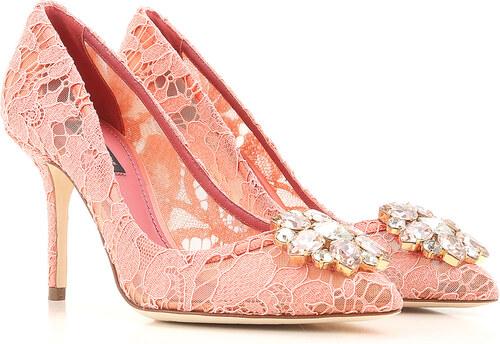 3f6173ee477 Dolce & Gabbana Γόβες & Ψηλοτάκουνα Σχεδιαστών για Γυναίκες, Παιώνια ...