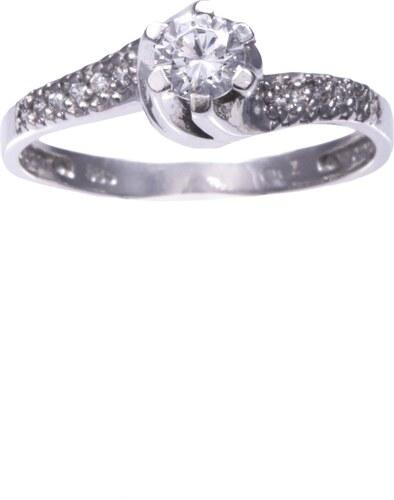 Watchmarket.gr Δαχτυλίδι μονόπετρο λευκόχρυσο 14 καράτια με ζιργκόν ... f909b55ed22