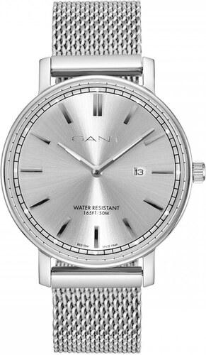 Ρολόι Gant Nashville με ασημί μπρασελέ και ημερομηνία GT006009 ... 0c6b10a2e75