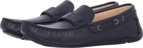 Boss shoes Ανδρικά Μοκασίνια G5481 Μπλε Δέρμα - Glami.gr a174db0efb9