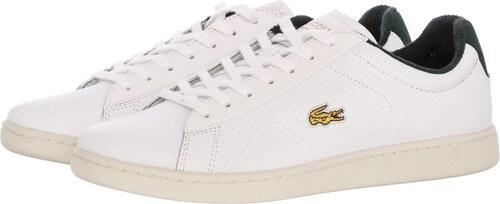 8d38987946e7 Lacoste Ανδρικά Παπούτσια Casual Carnaby.men Άσπρο Δέρμα - Glami.gr