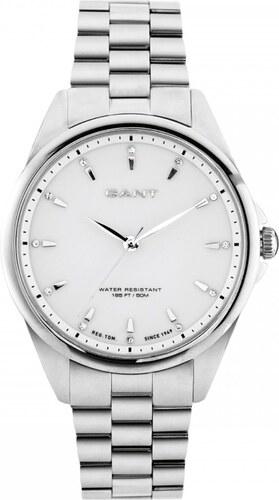 Ρολόι Gant Rochelle με ασημί μπρασελέ και swarovski W70561 - Glami.gr 9dd00d09c74