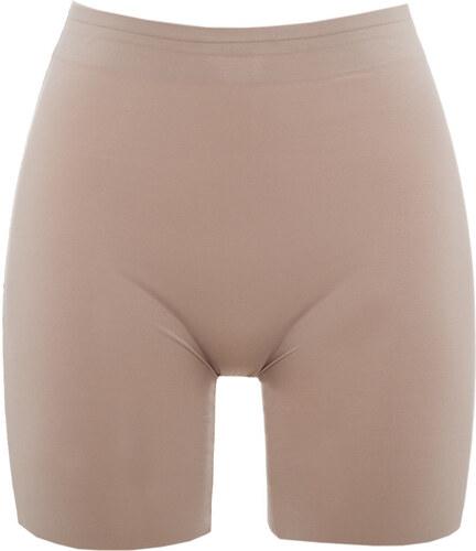 Per Mia Donna Γυναικείο μπεζ lastex σύσφιξης με μακρύ πόδι χωρίς ραφές 0e308e50da2
