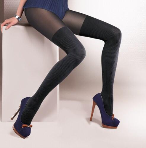 Sensi Γυναικείο καλσόν σχέδιο καλτσομπότα - Glami.gr c97e82b9598