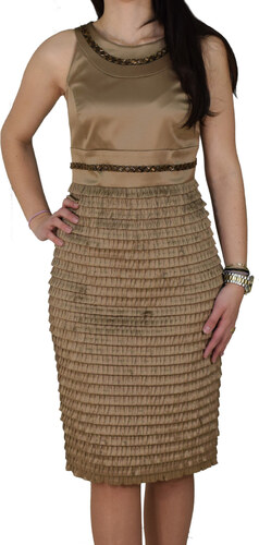 Φόρεμα Μίντι Vagias 1877-80 Μπεζ vagias 1877-80 mpez - Glami.gr 3d9724bb096