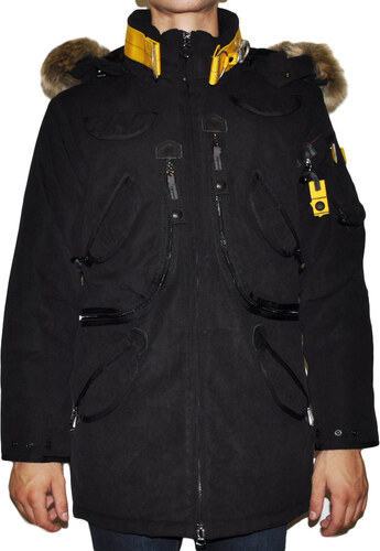 f31f9e271f95 WELLENSTEYN RESCUE MEN PARKA BLACK - Glami.gr