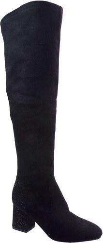 Exe Shoes Γυναικεία Παπούτσια Μπότα H862-R202 Μαύρo Καστόρι EXE H862-R202  MAΥΡΟ 90a293cdac2