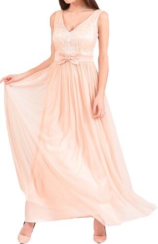 b423ed3917a6 Angelo Maxi φόρεμα με ανάγλυφο μπούστο και φιόγκο - Glami.gr