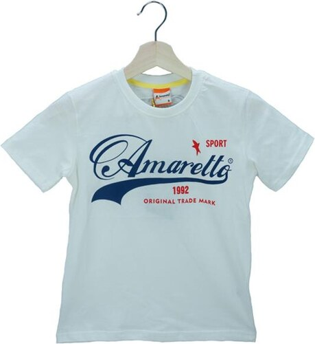 Παιδική Μπλούζα Amaretto A1874 Εκρού Αγόρι - Glami.gr 601cfe0c7d6