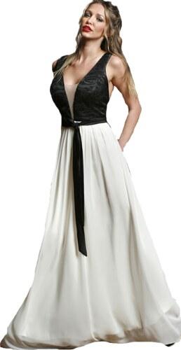 CS-PS Maxi δίχρωμο φόρεμα με ανοικτή πλάτη - Glami.gr 1da1a610bc2