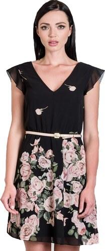 b60712ce796d Be you Mini φόρεμα floral με ζωνάκι - Glami.gr