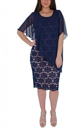 RAVE Κολακευτικό μπλε φόρεμα - Glami.gr 316cad60762