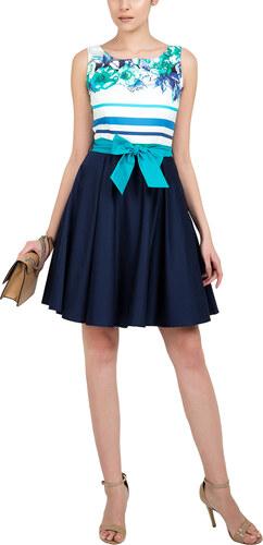 2ffee2ec7b4a RAVE Βαμβακερό φόρεμα με ζώνη - 48 - Glami.gr