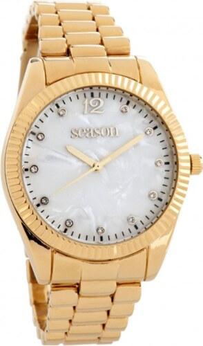 Γυναικείο ρολόι 6-2-48-9 με χρυσό μπρασελέ - Glami.gr c9f2f84307e