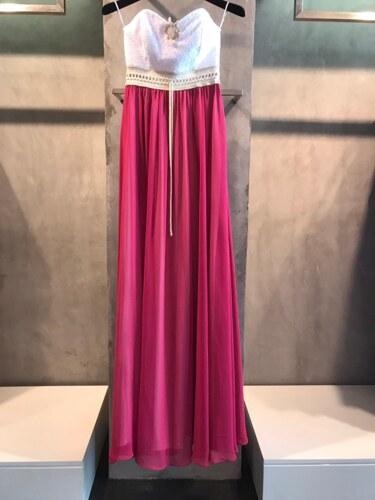 Strapless φόρεμα μουσελίνα με δαντέλα - Glami.gr 1961925562a