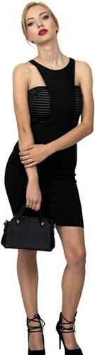 Miss Pinky Φόρεμα mini αμάνικο κρεπ - ΜΑΥΡΟ 107-1221 - Glami.gr 3f61b2c51e3