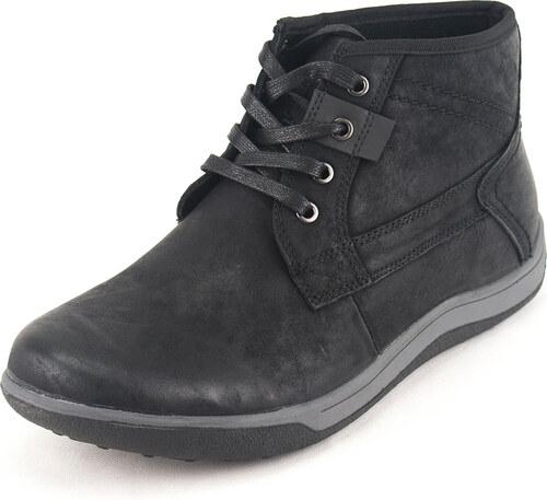 Ego Shoes Ανδρικά Casual Δερμάτινα Μποτάκια EGO Κωδ. G67-06141BLK Χρώμα  Μαύρο de98e03e942