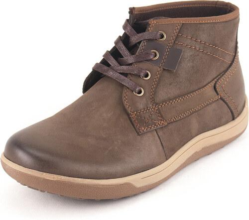 Ego Shoes Ανδρικά Casual Δερμάτινα Μποτάκια EGO Κωδ. G67-06141BRO Χρώμα Καφέ 07907c1c786