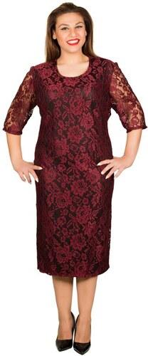 DIVA-XL Φόρεμα σε ίσια γραμμή δαντέλα ύφασμα - Glami.gr f03304499f6
