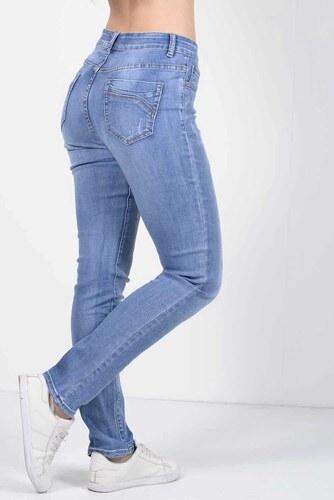 eb4a6fd0c3ed Exxes Fashion Παντελόνι Jean Ελαστικό με σκισίματα 54 - Glami.gr