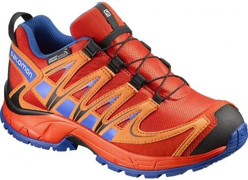 2237b1c13b1 Αδιάβροχα παιδικά αθλητικά παπούτσια Salomon Xa Pro 3D CSWP K Lava ...