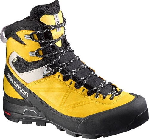 2ef22769893 Αδιάβροχα ορειβατικά μποτάκια ανδρικά Salomon X Alp MTN GTX Gore-Tex Black  Bee-X