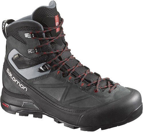 Αδιάβροχα ορειβατικά μποτάκια ανδρικά Salomon X Alp Mountain GTX Gore-Tex  Black 373283 Μαύρο Salomon 0ba13e61f6d