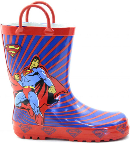 136c60756d2 eshoes.gr Παιδικές Γαλότσες Superman Μπλε/Κόκκινο - Glami.gr