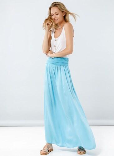 75e47fc9bbf The Fashion Project Maxi φούστα με μπάσκα - Γαλάζιο - 05043018001 ...
