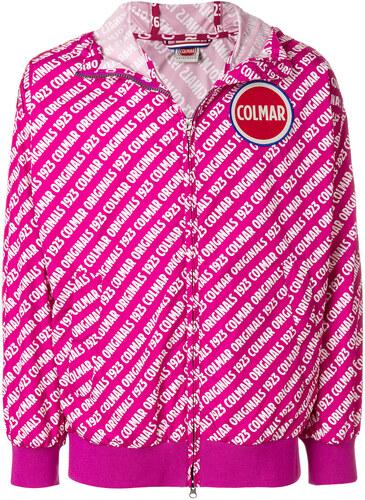Colmar logo printed jacket - Pink - Glami.gr dd7931a9e92