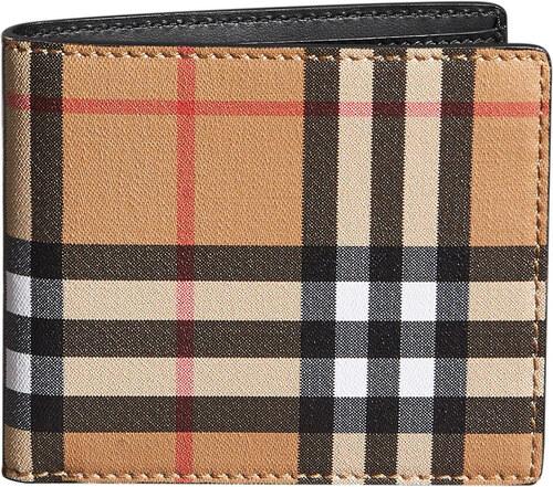 e4c8baa22c Burberry vintage check bifold wallet - Neutrals - Glami.gr