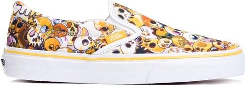 ae687cbba4 Νέα Vans Vault by Vans x Takashi Murakami skull slip-on sneakers - Yellow