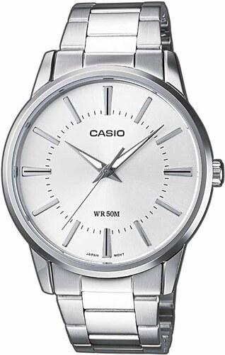 Ρολόι Casio Collection με ασημί μπρασελέ και καντράν MTP-1303PD-7AVEF 9b702bc6b03